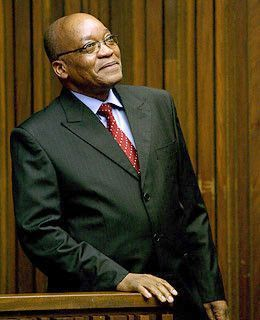 Arrivée en Inde du Président Sud-Africain 11c47547